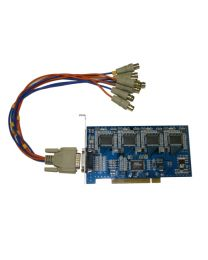 4channel Surveillance PCI Card with Audio (high quality)
