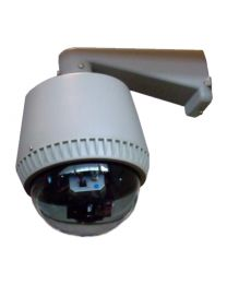 "SeqCam Vandal-Weatherproof Speed Dome Security Camera with 1/4"" SONY CCD/480 TVL/30x Zoom"