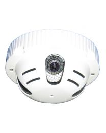 "SeqCam Smoke Detector Shape Hidden Color Security Camera with 1/3"" SONY CCD/420TVL/3.6mm Lens"