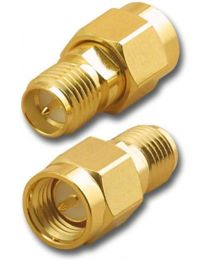 BY-SMA Male to SMA RP Female adapter