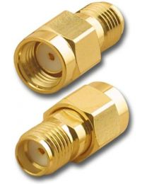 BY-SMA RP Male to SMA Female adapter