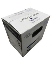 TygerWire 1000-Ft UTP Cat5e Network Cable with FT4-CM-CSA-CUL-UL(Grey)