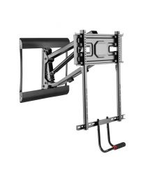 """TygerClaw 43"""" – 73"""" Full-motion + Pull-Down TV Wall Mount"""
