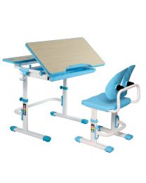 """TygerClaw """"TYDS140051"""" Adjustable Height Childrens Desk with Storage"""