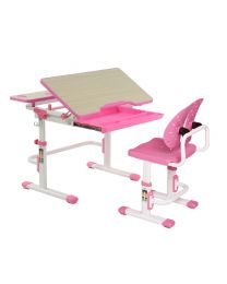 """TygerClaw """"TYDS140052"""" Adjustable Height Childrens Desk with Storage"""