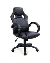 """TygerClaw """"TYFC210033"""" Executive High Back Gaming Style Chair (Black)"""